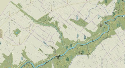 Plan Your Visit - Friends of Wissahickon Friends of Wissahickon Valley Park Map on