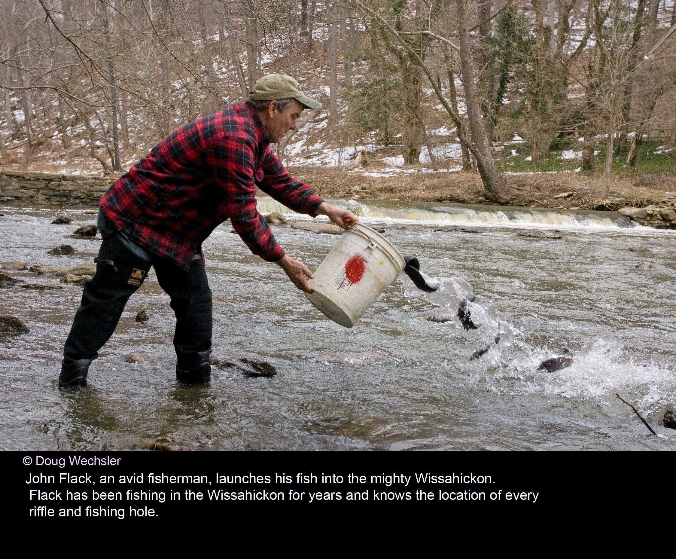 Director's Notebook: Trout Fishing in the Wissahickon